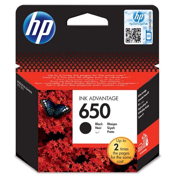 HP 650 černá